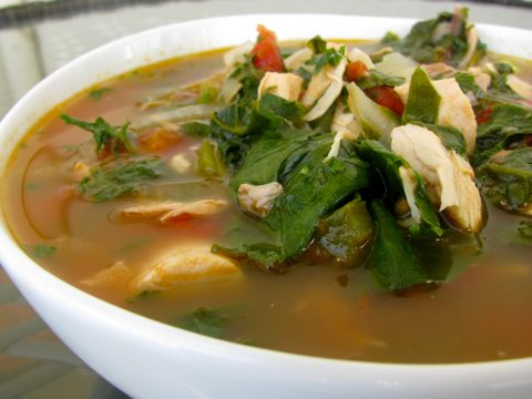 Chard-and-Chicken-Soup